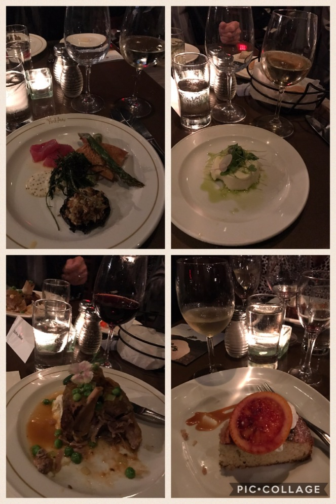 Tablas creek wine dinner